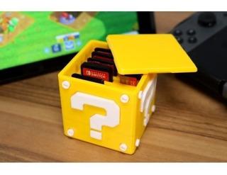 Caja Portajuegos Nintendo Switch, Mario Bros 8 Juegos Y 5 Sd