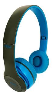 Fone De Ouvido Bluetooth Over Ear Barato Sem Fio Cabo P2