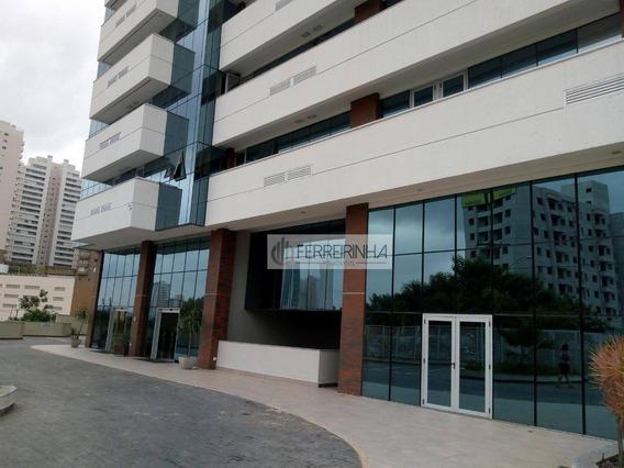 Sala Comercial, Em Prédio De Vanguarda - Sa0156