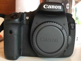 Canon Eos 7d Em Perfeito Estado Somente Corpo