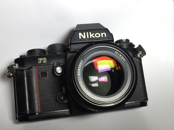 Nikon F3 Para Colecionador View Finder (dioptria) E Filtro