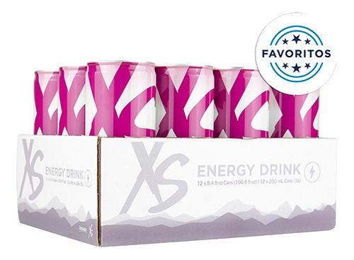 Imagem 1 de 1 de Xs Energy Drink | Pack Com 12 Unidades