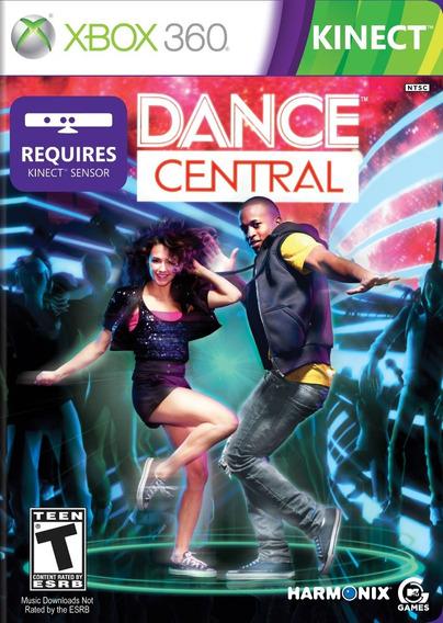 Jogo Dance Central 1 Xbox 360 Original Física Frete Grátis!