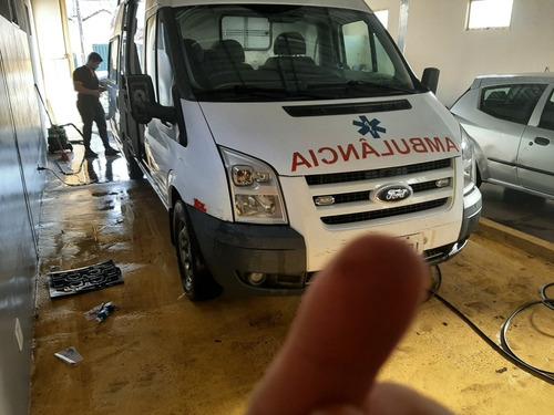 Imagem 1 de 12 de Ford Transit Van Furgão Ambulancia 2011 Motor Zero Km