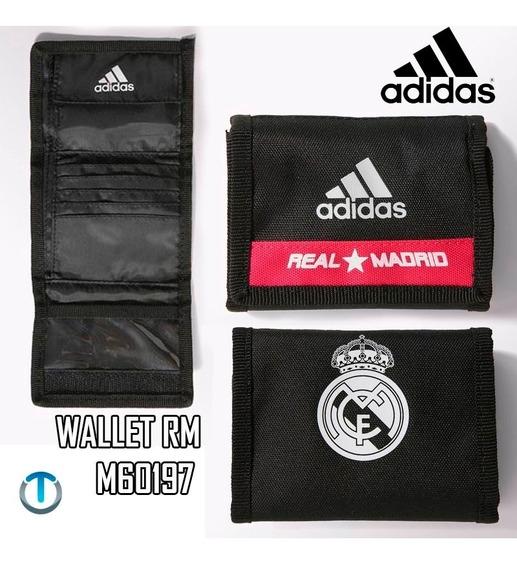 Billetera Real Madrid adidas Original M60197 Real Wallet.