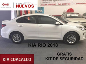 Kia Kia Rio Sedan 4 Pts. Ex Tm6 A/ac Aut. Ve F. Niebla Ra-1