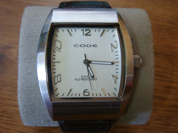 Reloj Code Watch All Stainless Steel 100% Original