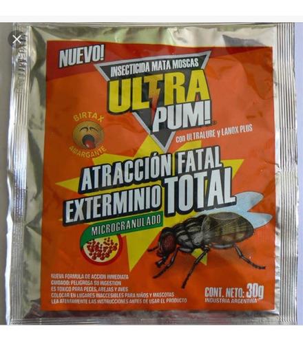 Mata Moscas Micro Granulado Insecticida Ultra Pum 30gr