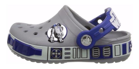Crocs Edicion Star Wars R2 - D2 P/ Niño Y Niña Varias Tallas