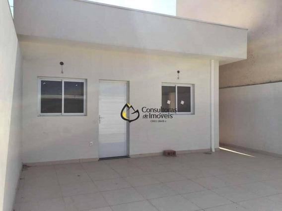 Casa Com 1 Dormitório À Venda, 70 M² Por R$ 240.000,00 - Alto Do Mirante - Paulínia/sp - Ca1064