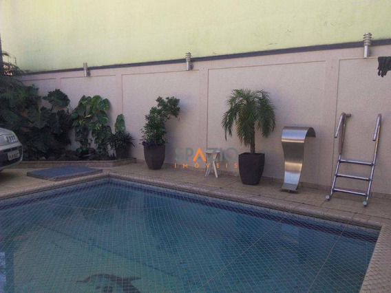 Casa Residencial À Venda, Jardim Jequitibás I, Santa Gertrudes. - Ca0026
