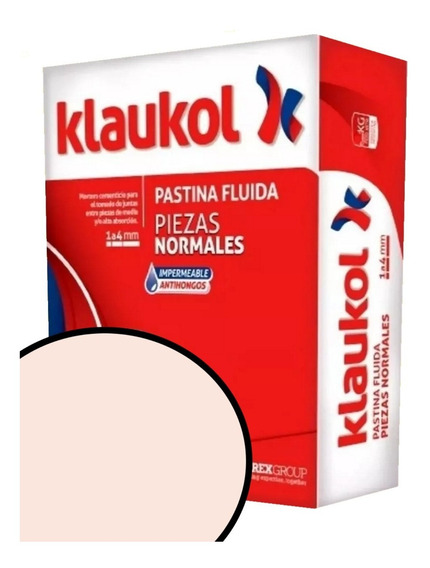 Pastina Klaukol Fluida 5kgs Blenda Antihongo Cuotas