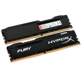 Memoria 16gb 2x8gb Kingston Ddr4 2400mhz Cl15 Preta