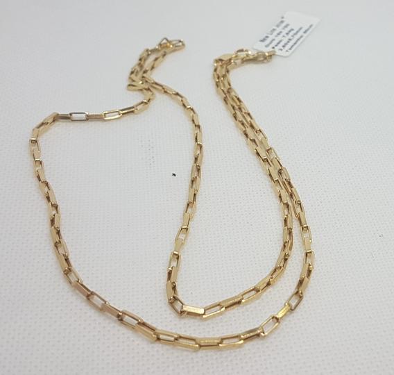 Corrente Em Ouro Cartier 18k 750 Impecável 7,84g 60cm