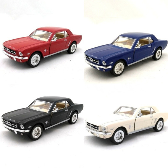 Miniatura Ford Mustang 1964 1/2 Escala 1/36