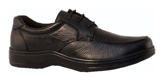 Zapato Stork Man Zapato Acordonado Carlos Negro