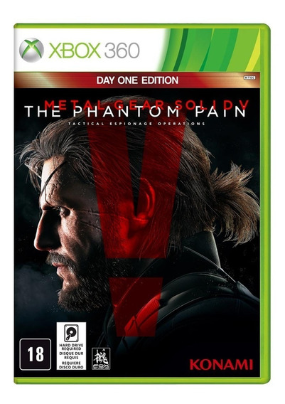 Metal Gear Solid V The Phantom Pain Xbox 360 Day One Edition
