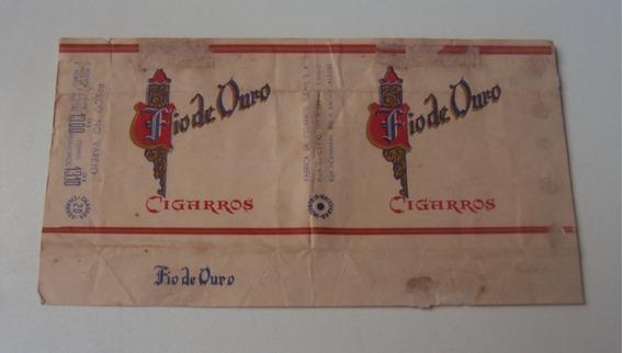 Embalagem De Cigarro - Fios De Ouro #2