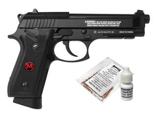 Pistola Co2 Pfam9b Cuerpo Metal Retroceso Cal. 4.5 Mendoza