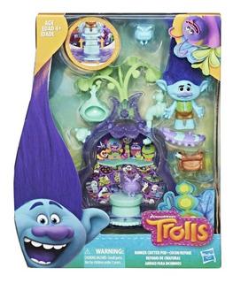 Trolls Discoteca De Criaturas E0145 Hasbro Playset Educando