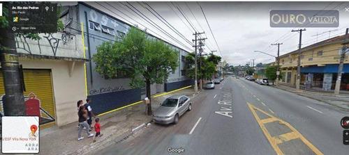 Galpão À Venda, 1800 M² Por R$ 3.100.000,00 - Vila Nova York - São Paulo/sp - Ga0579