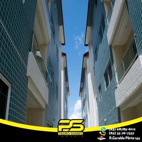 Apartamento Com 2 Dormitórios À Venda, 53 M² Por R$ 125.000,00 - Gramame - João Pessoa/pb - Ap2623