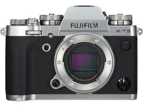 Câmera Fuji Xt3 Mirrorless Fujifilm X-t3 ( Prata )