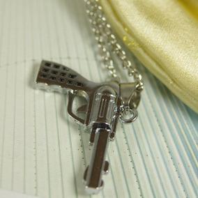 Colar The Walking Dead Revolver Do Rick Pronta Entrega