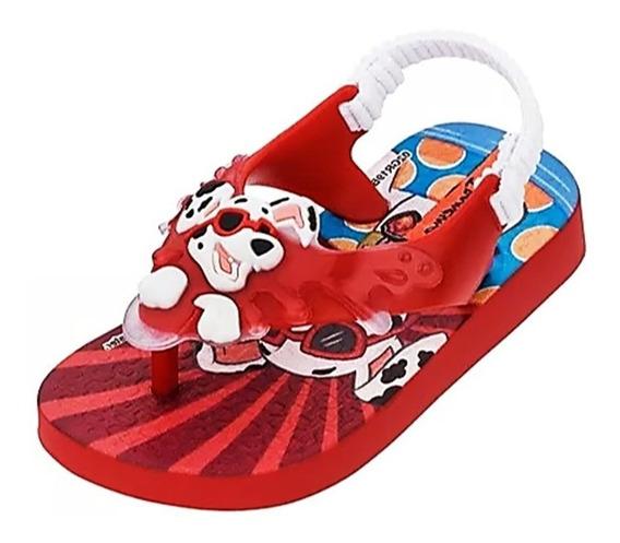 Chinelo Ipanema Patrulha Canina Baby Marsall 009914