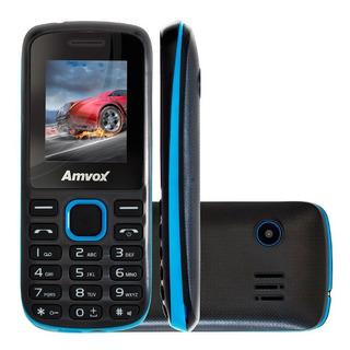 Celular Amvox Dual Sim Memória 32mb + Flash 32mb Mp4 Player
