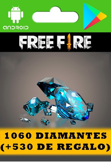 Free Fire 1060 Diamantes (+530 De Regalo, Leer Descripción)