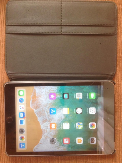 iPad Mini 3 64gb Impecável!!! + Cabo Usb E Carregador + Case