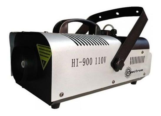 Máquina De Fumaça 900w 110v Hi900 Spectrum Controle Sem Fio
