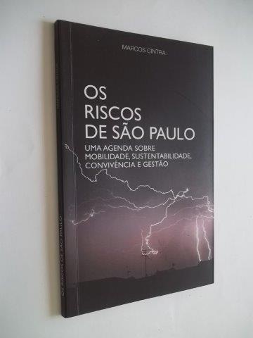 * Os Riscos De Sâo Paulo - Marcos Sintra - Livro