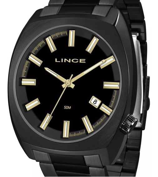 Relógio Lince Grande Original Masculino Mrn4584s P1px C/ Nf