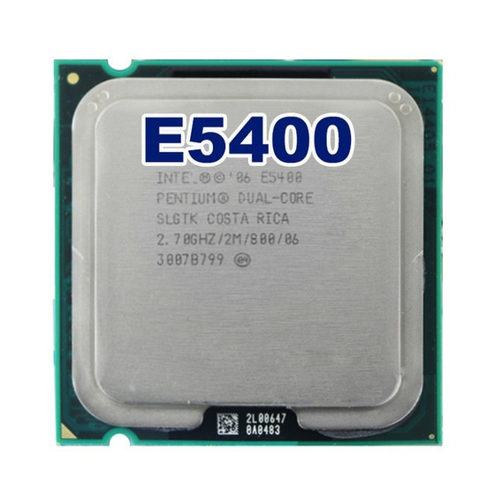 Processador Dual Core E5400 2.7hgz