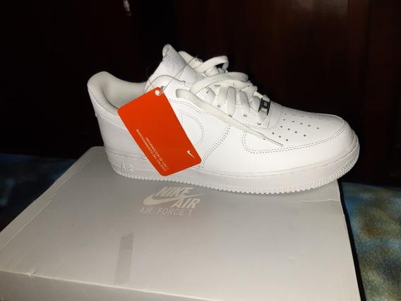 Zapatillas Nike Af1 Air Force 1 Blancas