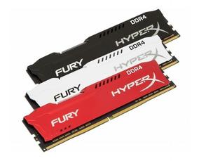 Memória 8gb 2400mhz Ddr4 Kingston Hyperx Fury Gamer Oficial