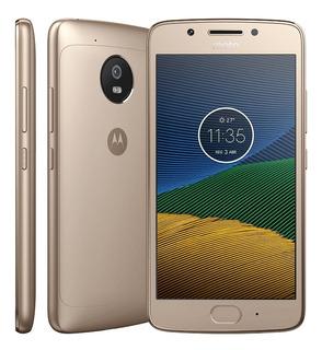 Motorola Barato Moto G5 Plus Nacional-dourado Pronta Entrega