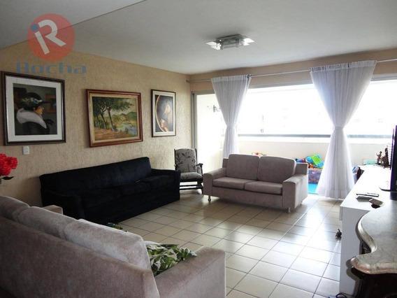 Apartamento Com 3 Dormitórios À Venda, 145 M² Por R$ 590.000 - Espinheiro - Recife/pe - Ap3267
