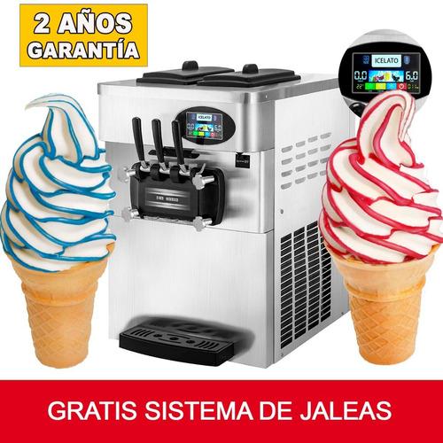 Maquina De Helado Mantecado Y Yogurt Frozen Incluye Formula