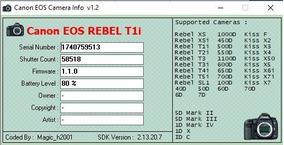 Câmera Canon Rebel T1s - Corpo + 2 Lentes, + Bolsa