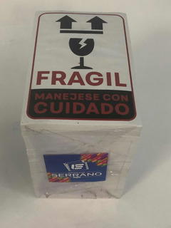 1000 Etiquetas De Frágil 10 X 15 Cm