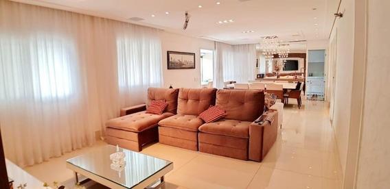 Apartamento Em Nova Petrópolis, São Bernardo Do Campo/sp De 180m² 4 Quartos À Venda Por R$ 1.280.000,00 - Ap281819