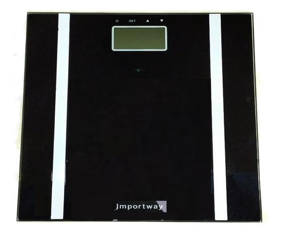 Balança Digital Bioimpedância Corporal Academia Até 180kgs