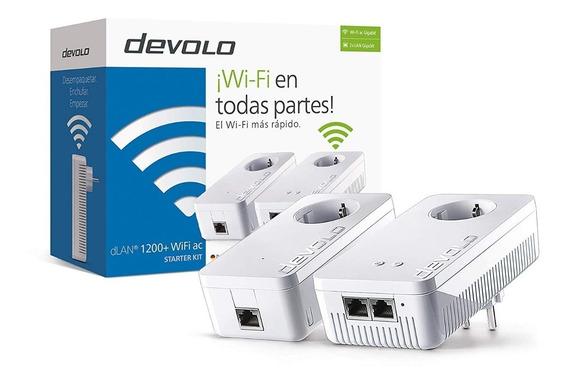 Plc Extensor Señal Wifi Devolo 1200 Wifi Kit - No Repetidor