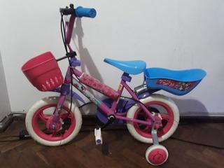Bicicleta Unibike Rodado 12 Minnie