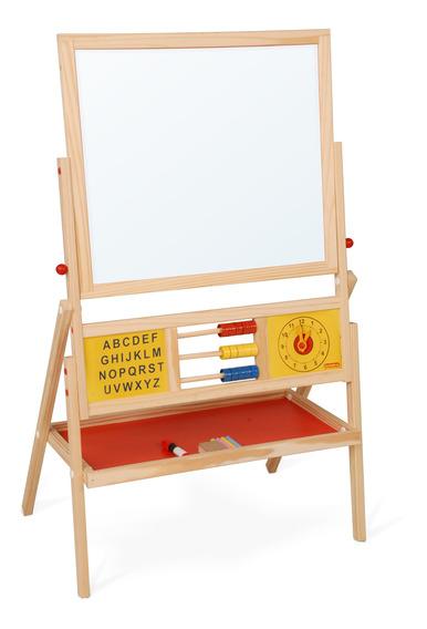 Lousa Quadro Educativo Brinquedo Madeira Pedagógico Crianças