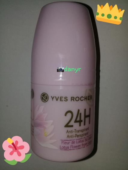 Yves Rocher - (flor De Lotus) Desodorante Roll On 24 H
