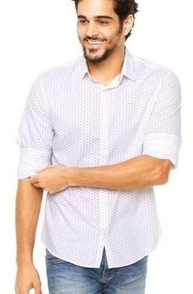 Camisa Masc Ml Tric Bord